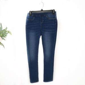 Old navy medium wash skinny jeans XL 14